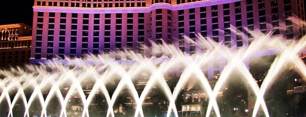 Fountains of Bellagio is one of Vegas.