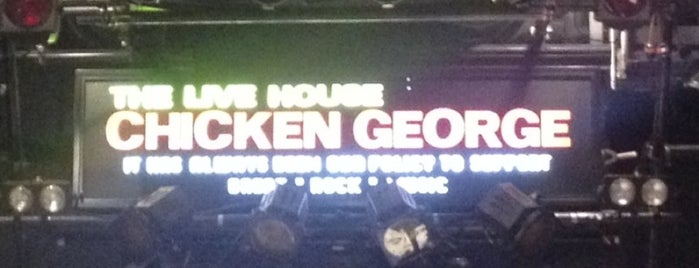 CHICKEN GEORGE is one of ライブハウス.