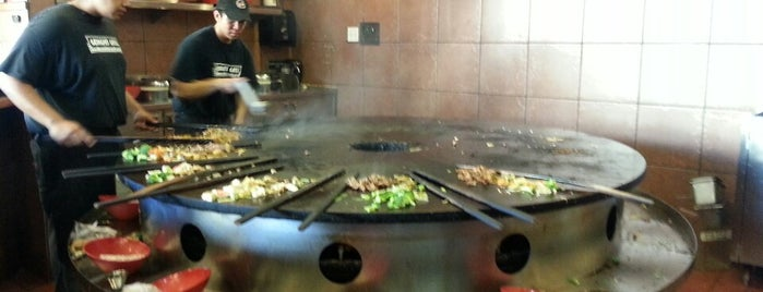 Genghis Grill is one of Done.