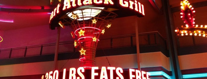 Heart Attack Grill is one of 10 Dining Challenges in Las Vegas!.