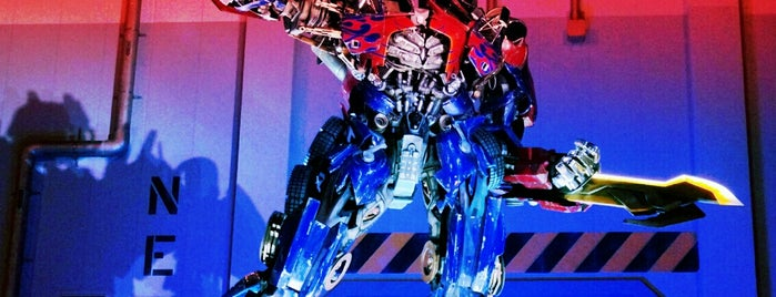 Transformers: The Ride - 3D is one of My Sunshine State <3.