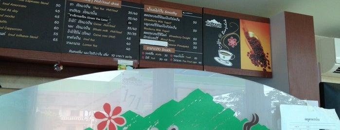 Inthanin coffee@Bangchak is one of แก้ไขที่อยู่อย่างชัดเจนแล้วนะ.