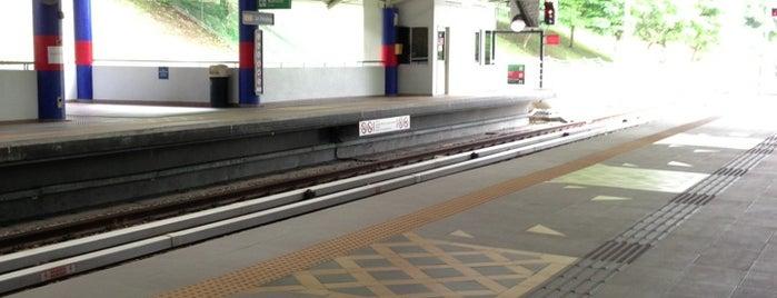 RapidKL Sri Petaling (PH8) LRT Station is one of enday.