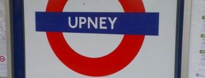 Upney London Underground Station is one of Tube Challenge.