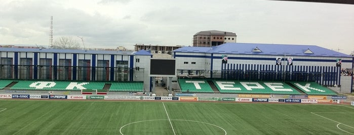 Спорткомплекс им. С. Г. Билимханова is one of Stadiums.
