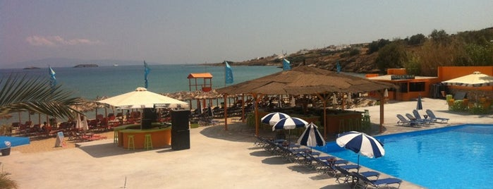 Punda Beach Club is one of Greek gems.