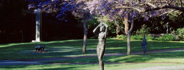 UCLA Franklin D. Murphy Sculpture Garden is one of L.A. to do.