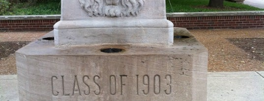 The Lions Fountain is one of Purdue Graduate Bucket List.