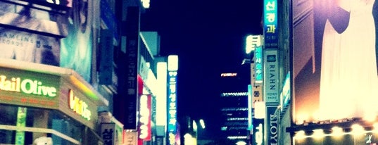 Myeongdong-gil is one of 10,000+ check-in venues in S.Korea.