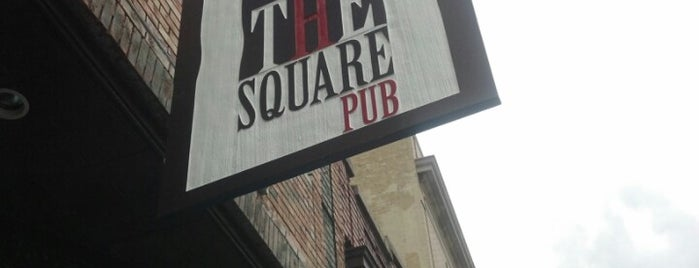 The Square Pub is one of To Do Restaurants.