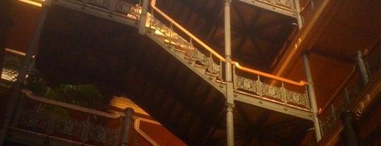 Bradbury Building is one of Los Angeles Photo Walk (Downtown).