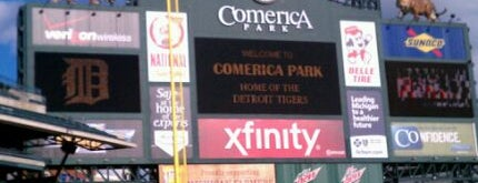 Comerica Park is one of Sport Staduim.
