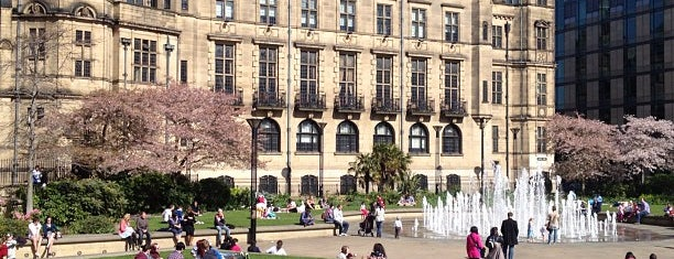 "Peace Gardens is one of ""MUST GO""  Sheffield.."