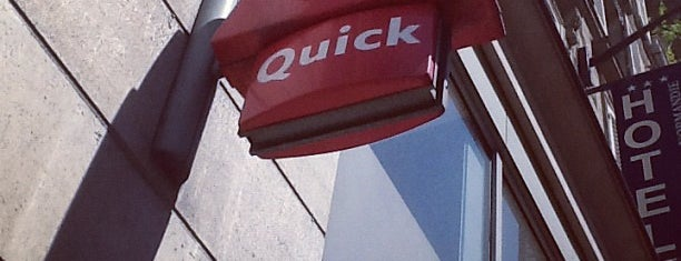 Quick is one of Favorite Food.