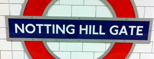 Notting Hill Gate London Underground Station is one of Zone 1 Tube Challenge.