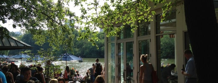 The Loeb Boathouse in Central Park is one of NYC's Upper West Side.