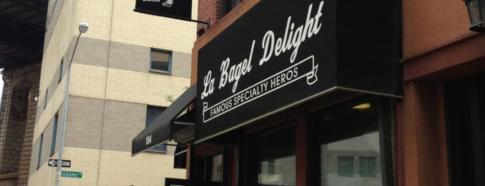 La Bagel Delight is one of Unravel New York.