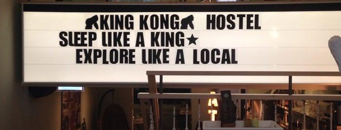 King Kong Hostel is one of #010 op z'n #Rotterdamst.