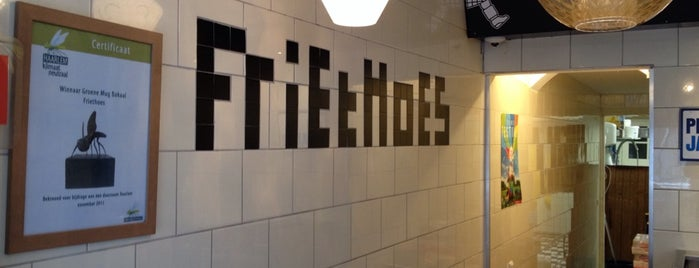Het Friethoes is one of Haarlem, The Netherlands.