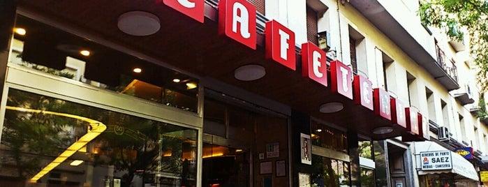 Cafetería HD is one of Madrid comida resacosa.