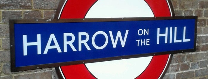 Harrow-on-the-Hill London Underground Station is one of Tube Challenge.