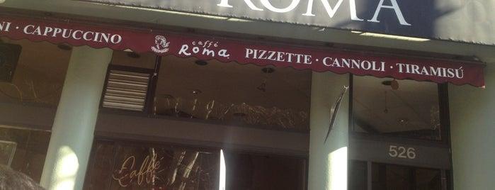 Caffè Roma Coffee Roasting Co. is one of North Beach Local Eats.