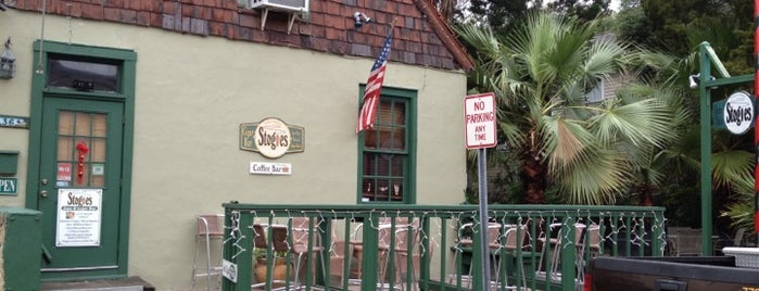 Stogies Jazz Club & Listening Room is one of My St. Augustine Favorites.