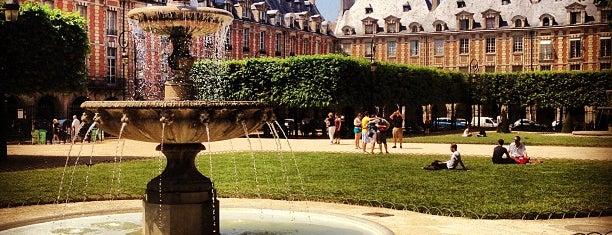 Place des Vosges is one of Paris, FR.