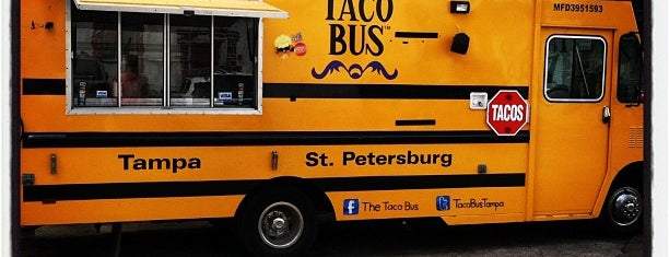 Taco Bus is one of Triple D Restaurants.