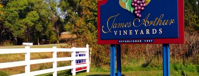 James Arthur Vineyards is one of Places I really like.