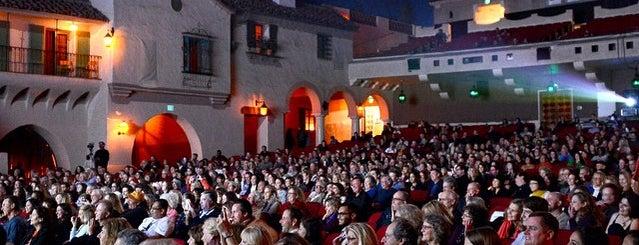 Santa Barbara International Film Festival is one of Spin the Globe in Santa Barbara.