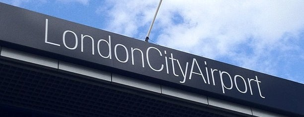 London City Airport (LCY) is one of Airports.