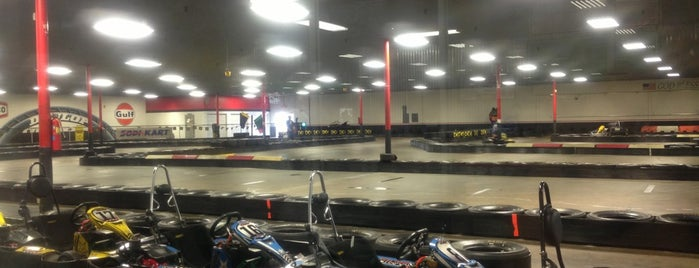Track 21 Indoor Karting & More is one of Houston Trip 2011.