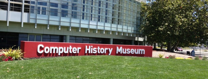 Computer History Museum is one of Come to Mountain View, CA! #VistUS.