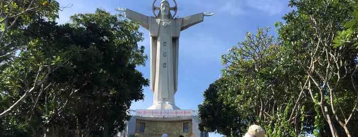 Jesus Christ Statue ( Tuong Jesus) is one of du lịch - lịch sử.
