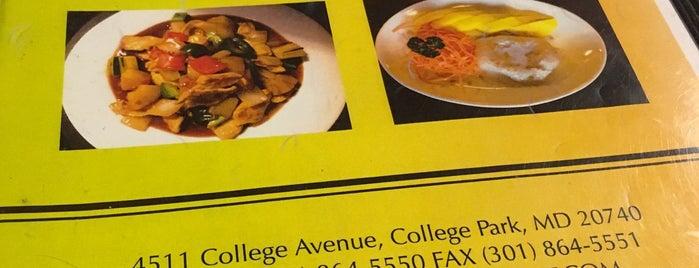 Food for Aroy thai cuisine portland