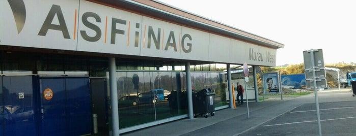 Rastplatz Murau West is one of ASFINAG Rastplätze.
