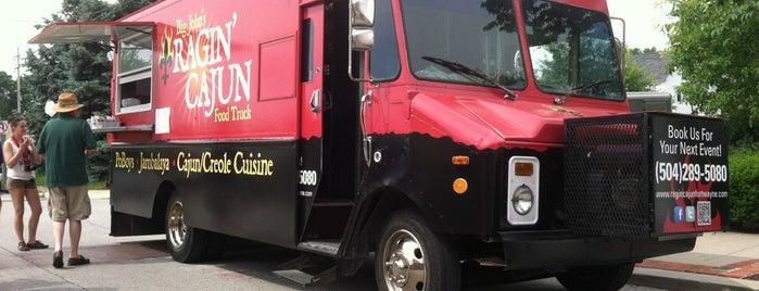 Ragin Cajun Food Truck Fort Wayne Menu
