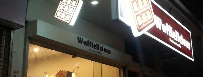 Wafflelicious is one of Dessert places.