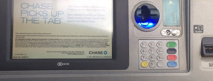 Chase Bank is one of The Regulars.