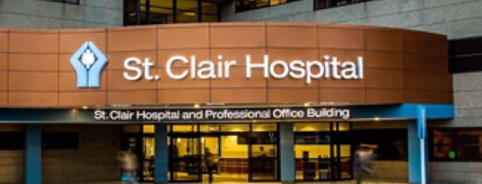 St. Clair Hospital is one of Hospital.