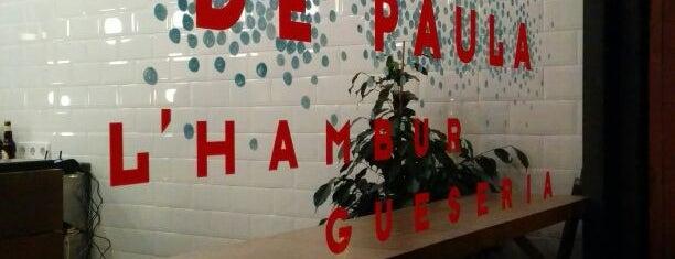 De Paula: l'Hamburgueseria del Poble Sec is one of BCNRestaurants.
