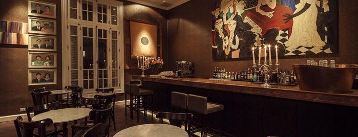 Hotel B is one of Stevenson's Favorite Whiskey Bars.