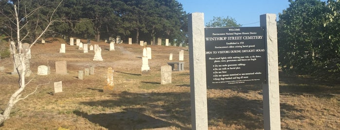 Winthrop Street Cemetery is one of Landmarks.