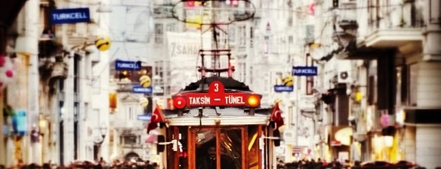 İstiklal Avenue is one of The places I love in Türkiye.