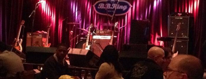 B.B. King Blues Club & Grill is one of My favorite NYC spots.