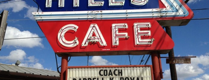 Hill's Cafe is one of Burgers in ATX.