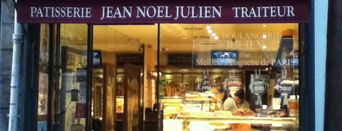 Boulangerie Julien is one of Pastries, Bread and Cheese in Paris.