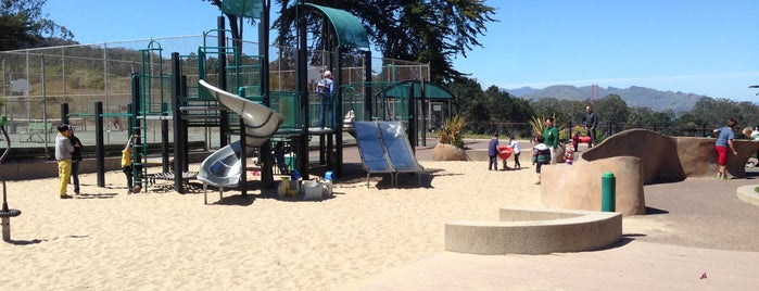 Julius Kahn Playground & Clubhouse is one of Get Outside in San Francisco!.
