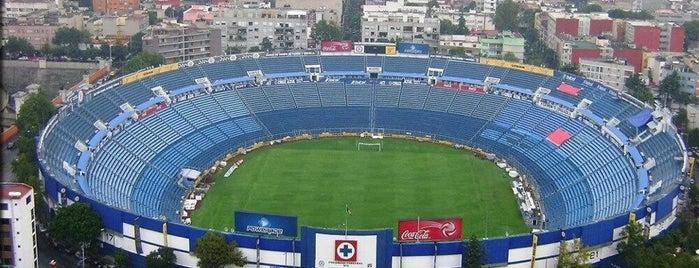Estadio Azul is one of Alex.